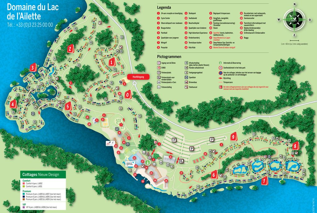 Center Parcs Le Lac d'Ailette