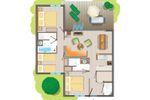 6-persoons bungalow Comfort Rolstoeltoegankelijk TF952