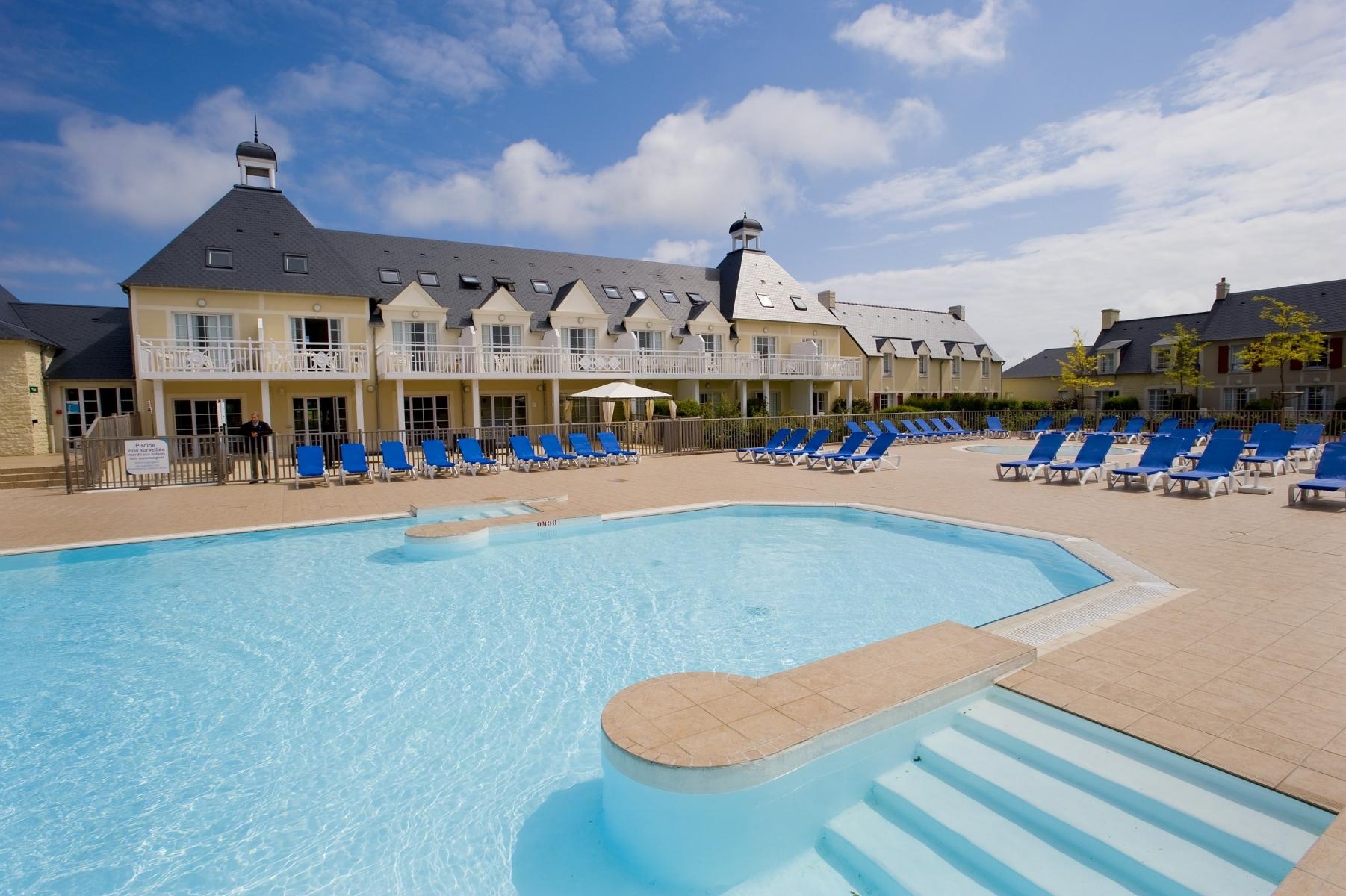 Aanbieding vakantiehuisje Normandische kust 🏕️Pierre & Vacances Résidence Le Green Beach - Omaha Beach