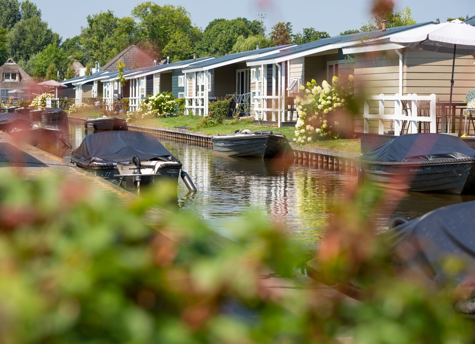 Korting vakantiehuisje Kop van Overijssel 🏕️Vakantiepark Giethoorn