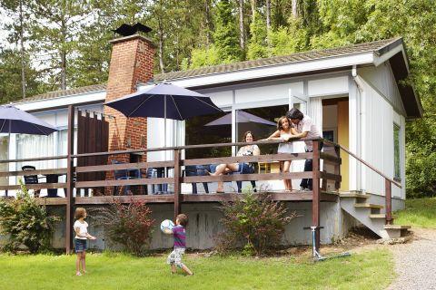 Korting bungalow Wallonië 🏕️Village de Vacances de Waulsort