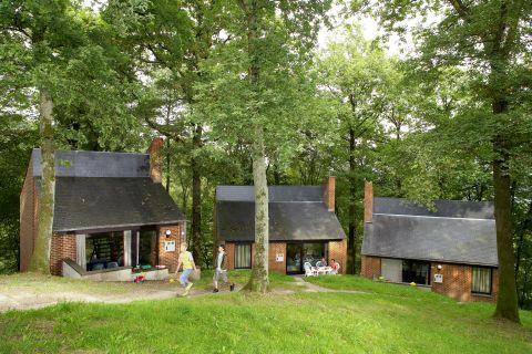 Korting vakantiehuisje Wallonië 🏕️Bungalowpark Le Domaine du Bonsoy