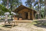 6-Personen Möbliertes Zelt Safaritent 2+4