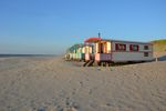 4-persoons stacaravan/chalet Pipowagen on the Beach
