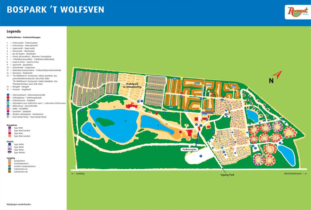 Roompot Bospark 't Wolfsven