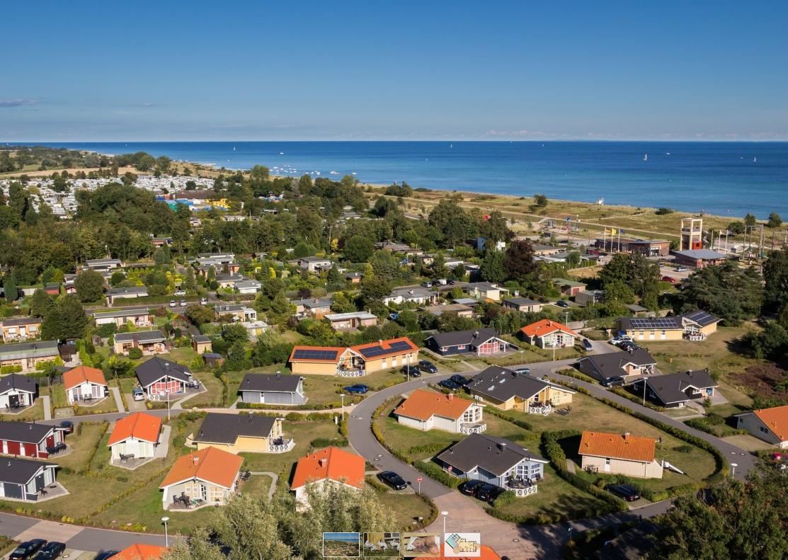 TOP DEAL vakantiehuisje Duitse oostzeekust 🏕️DanCenter Ostsee Strandpark Grömitz