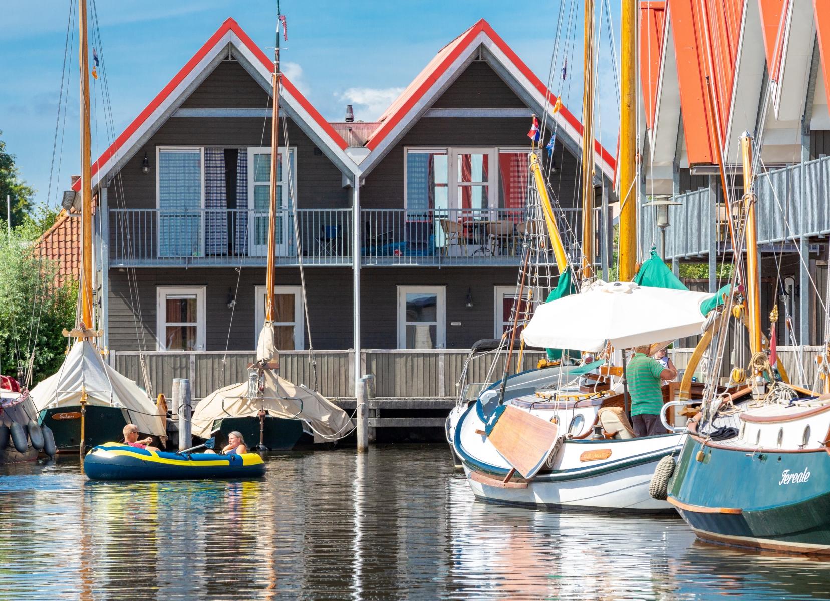 Super vakantiehuisje Friese meren 🏕️Roompot Terherne Haven