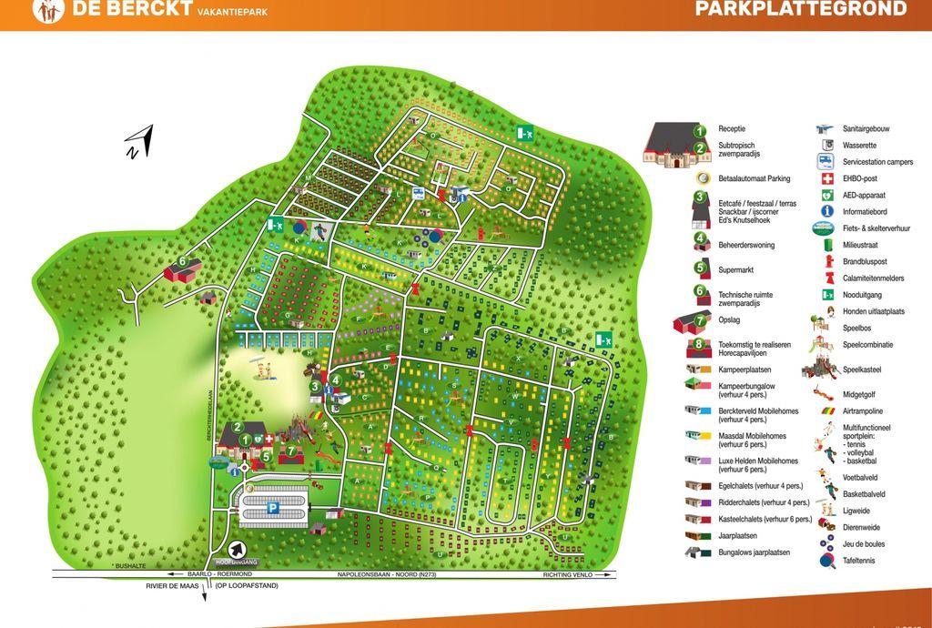 Oostappen park De Berckt